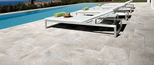 tips for using stone tiles outdoors