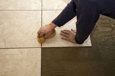 tile installation backsplash