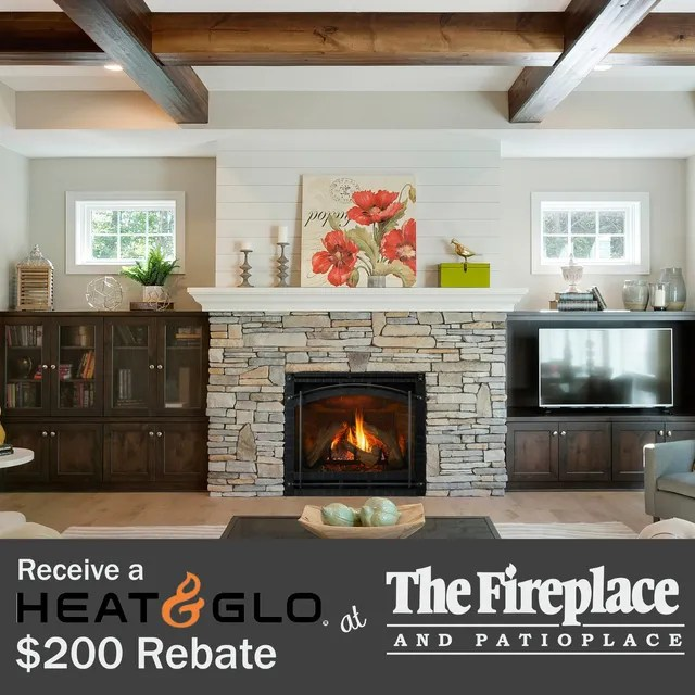 home the fireplace and patioplace in