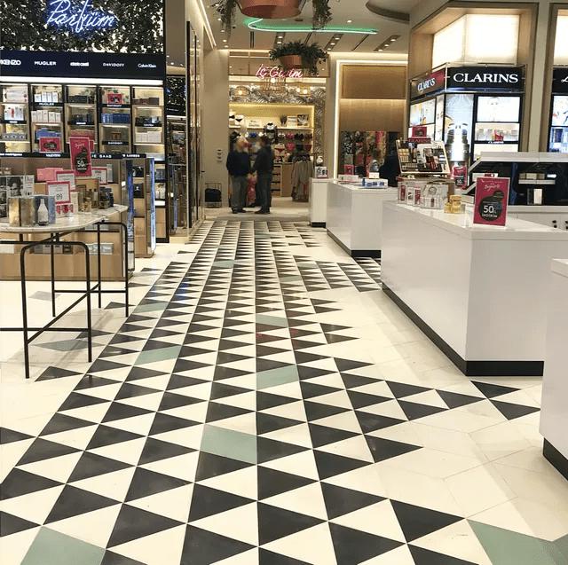 terrazo floor tiles