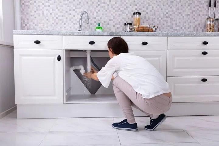 kitchen drain installation problems