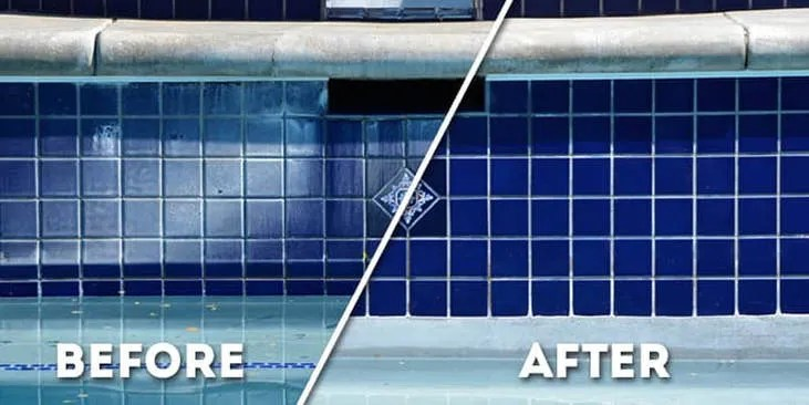 blast off pool tile cleaning home