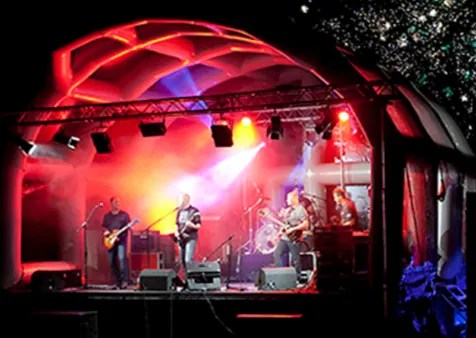 professional stage hire for concerts