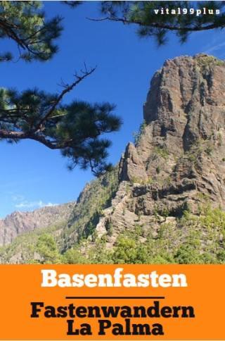 Basenfasten und Wandern auf la Palma - Erholung unter freiem Himmel