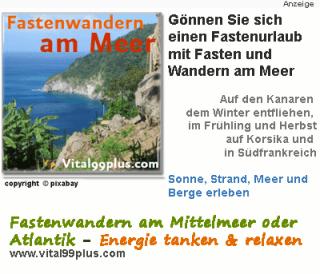 Fastenwandern - Mediterrane Landschaft und Aktivitäten mit Gleichgesinnten