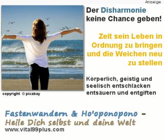 Fastenwandern & Ho'oponopono - Das ganze Jahr in Harmonie und innerer Balance