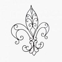 Flor de Lis na decoração
