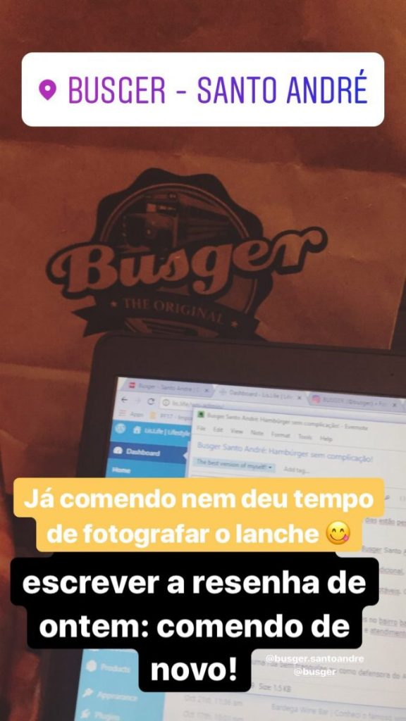 busger santo andré ifood