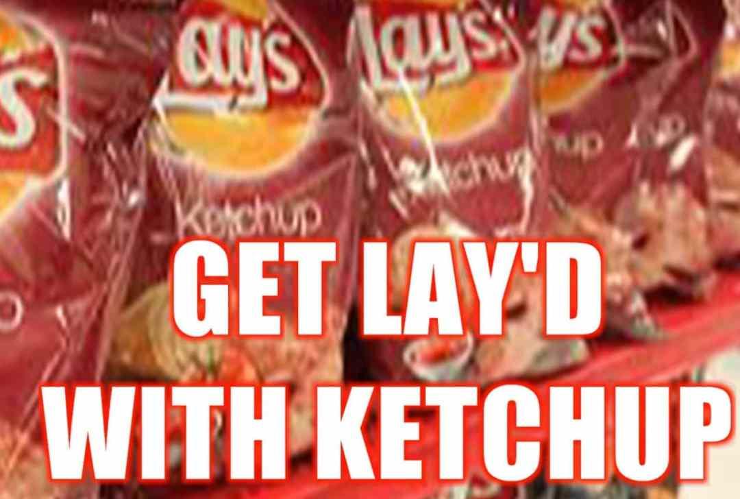 ketchup lays