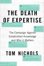 Book Cover: The Death of Expertise by Tom Nichols