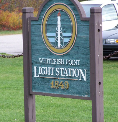 whitefishpointsign