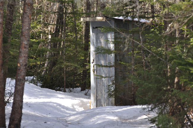 church outhouse