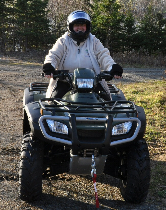 me on the atv