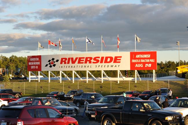 Canadian Tire NASCAR race - Antigonish