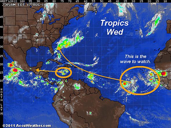 East Coast Hurricane next week?