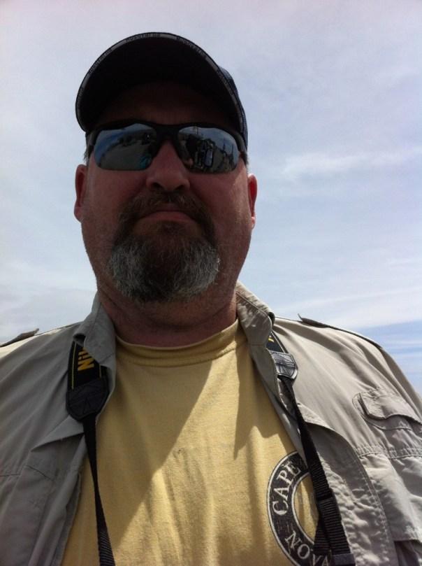 Jeff on top of Mount Washington