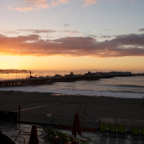 Beautiful Santa Cruz sunrise