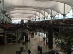 Denver Airport - main terminal building