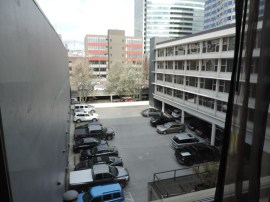 View from my hotel room.