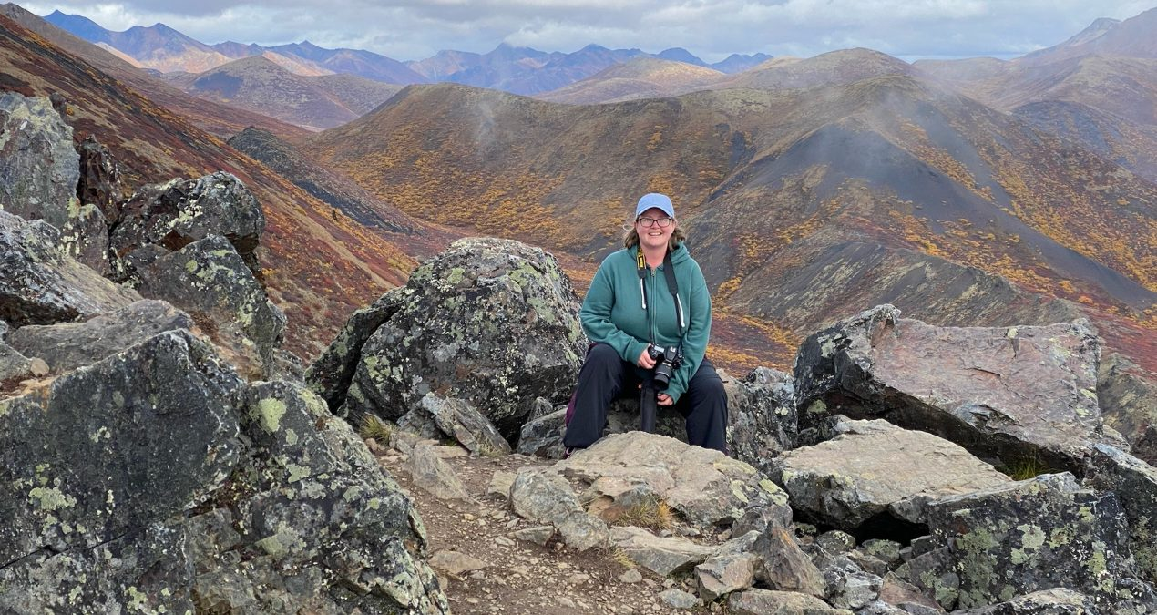 Tombstone hike: Goldensides