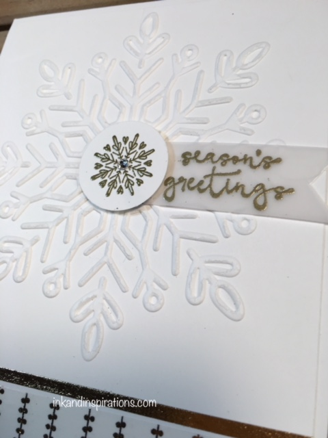 Stampin Up 2017 Christmas Card Ideas Video Tutorial 6