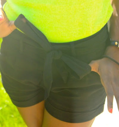 Neon Yellow Spring 2012 Outfit of the Day or Night
