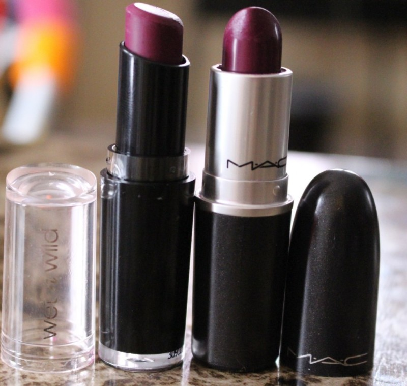 MAC Rebel Lipstick Review Swatches and Dupe for MAC Rebel ... |Mac Rebel Lipstick Nyx Dupe