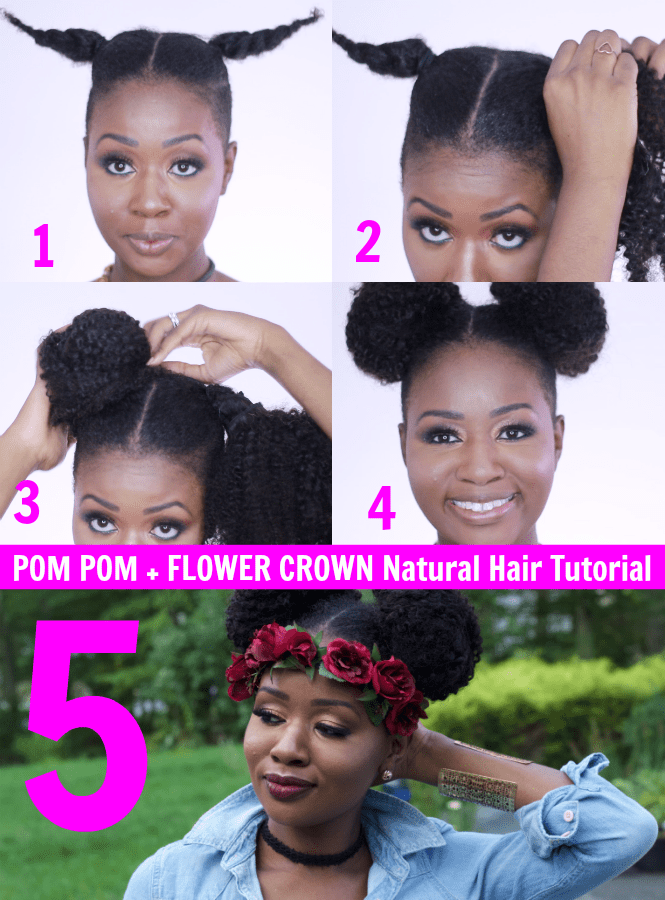 FLOWER-CROWN-NATURAL-HAIR-TUTORIAL