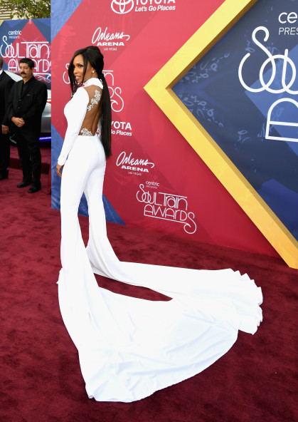 LAS VEGAS, NV - NOVEMBER 06: Actress Elise Neal attends the 2016 Soul Train Music Awards at the Orleans Arena on November 6, 2016 in Las Vegas, Nevada. (Photo by Ethan Miller/Getty Images)