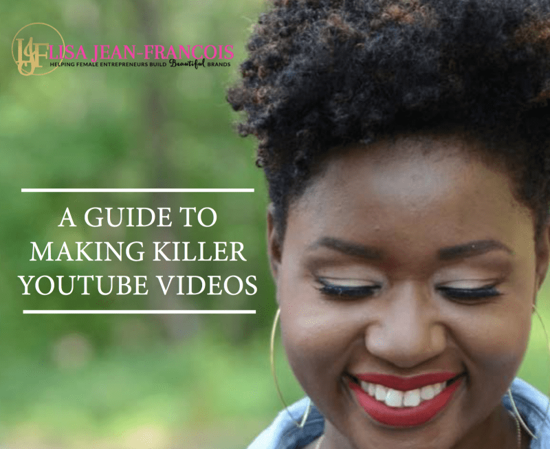 Guide to making videos on youtube