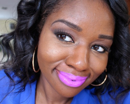 Too-Faced-Melted-Violet-Lip-Swatch-Dark-Skin