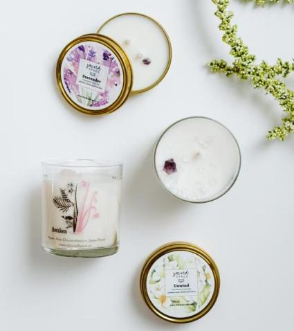Sacred Space candles