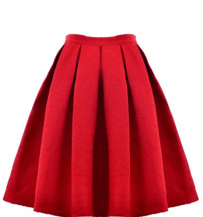 oasap-red-skirt