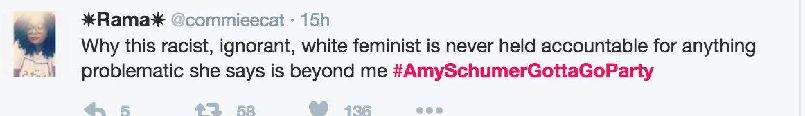 #AmySchumerGottaGoParty