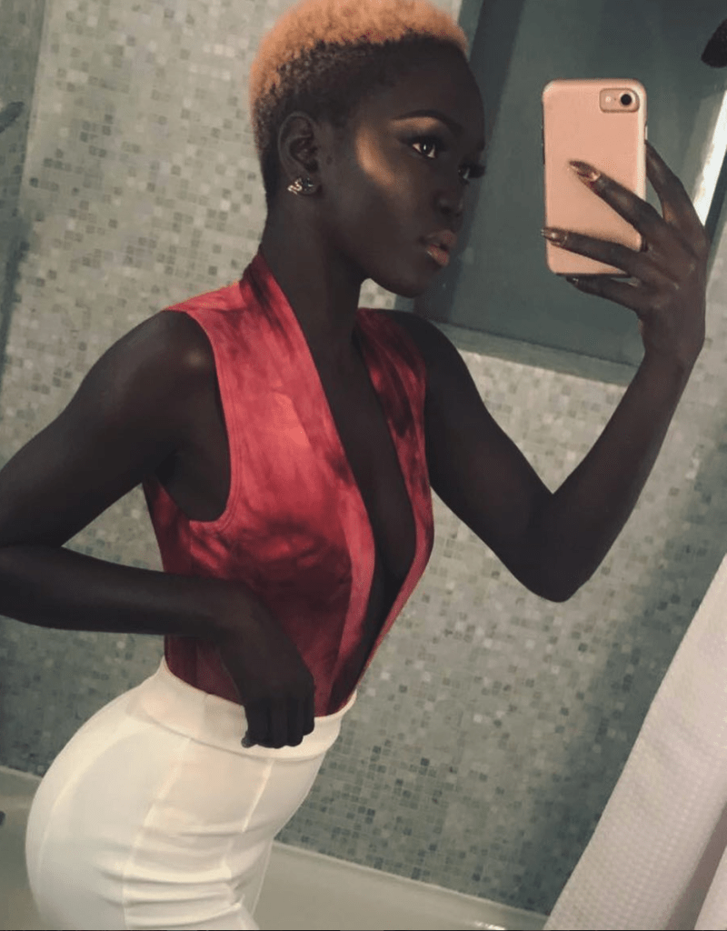 Nyakim Gatwech-emmys-queen-of-the-dark-skin-model