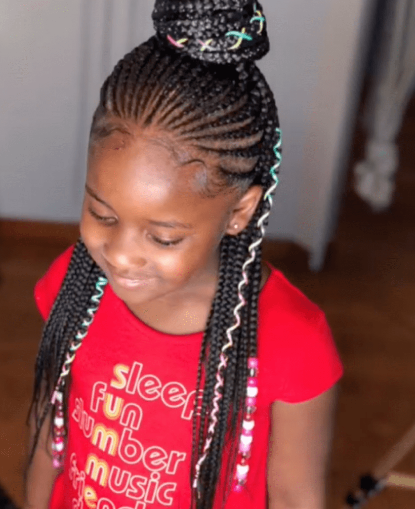 43 Braid Hairstyles For Little Girls With Natural Hair