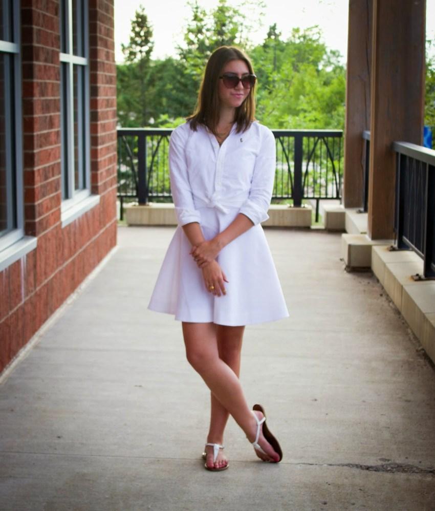 White Haute Summer - White Layered Dress -Extraordinary Fashion Blog