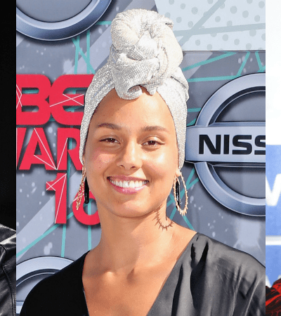 alicia keys makeup-free