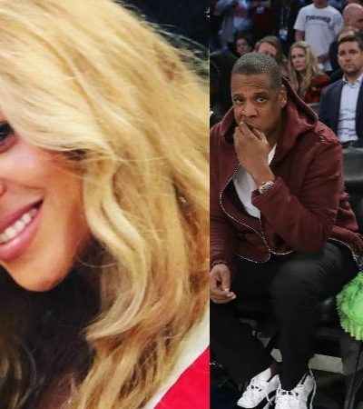 For The Fans: Beyonce, Blue Ivy, and Jay Z Attend The NBA All Star Game [Pics + Video]