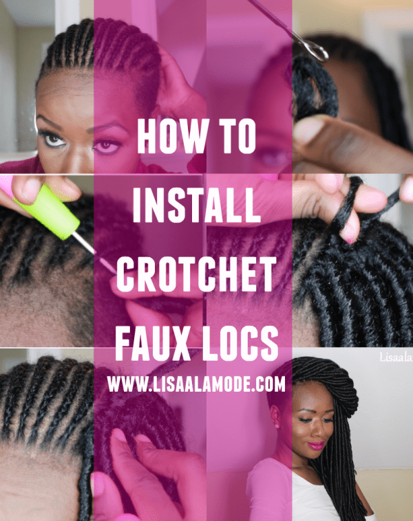 how-to-install-crotchet-faux-locs-collage