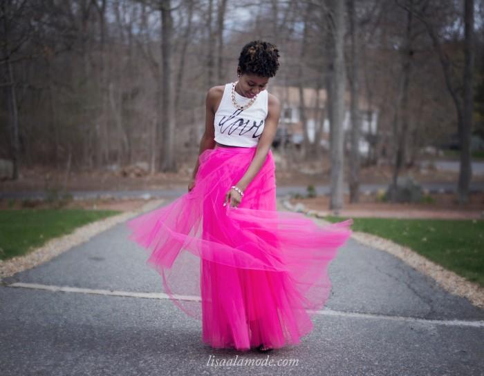 hot-pink-tulle-skirt