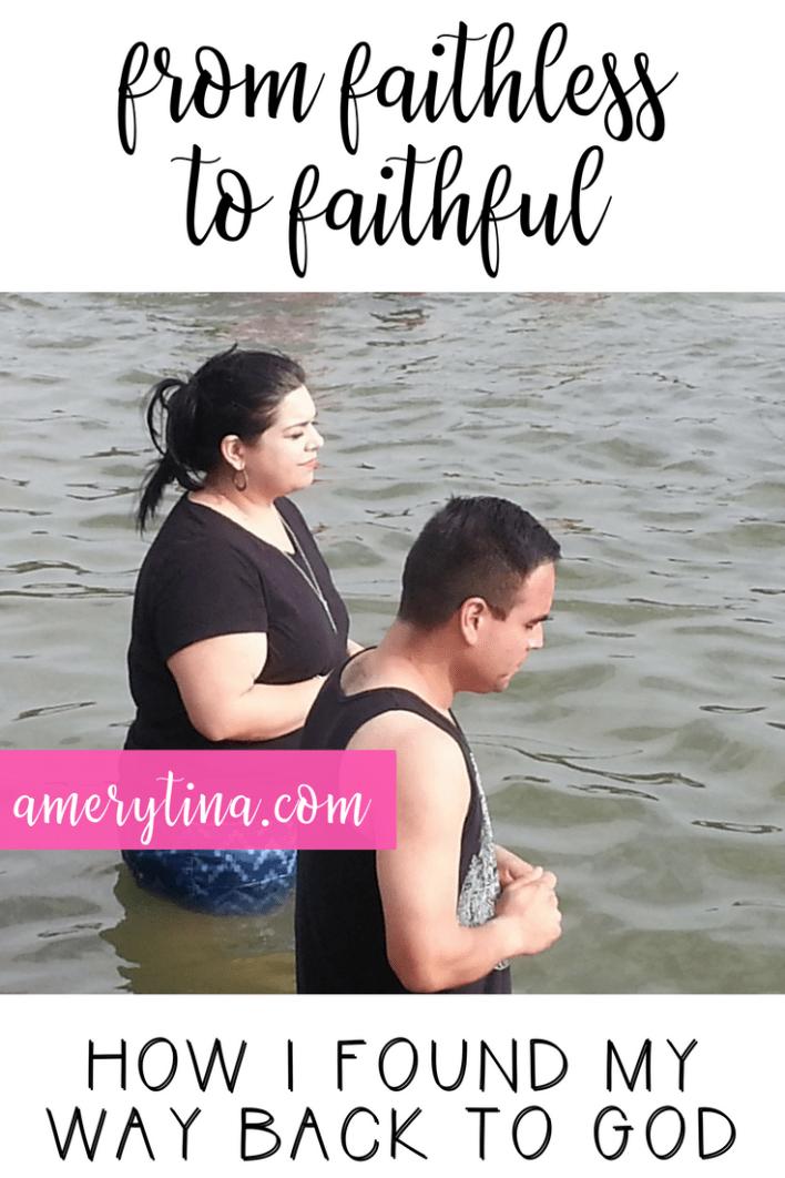 From faithless to faithful: How I found my way back to God | lisaalfaro.com #faith #God #believer #testimony