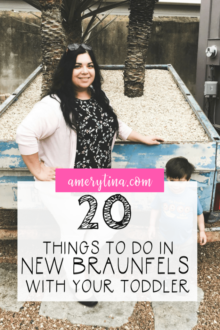 20 things to do in New Braunfels with your toddler | lisaalfaro.com #travel #toddler #NewBraunfels #sightseeing