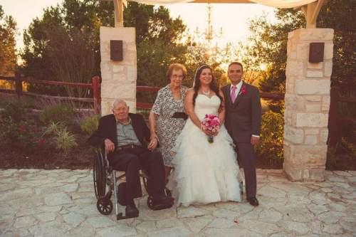 With my Welito & Welita on my wedding day