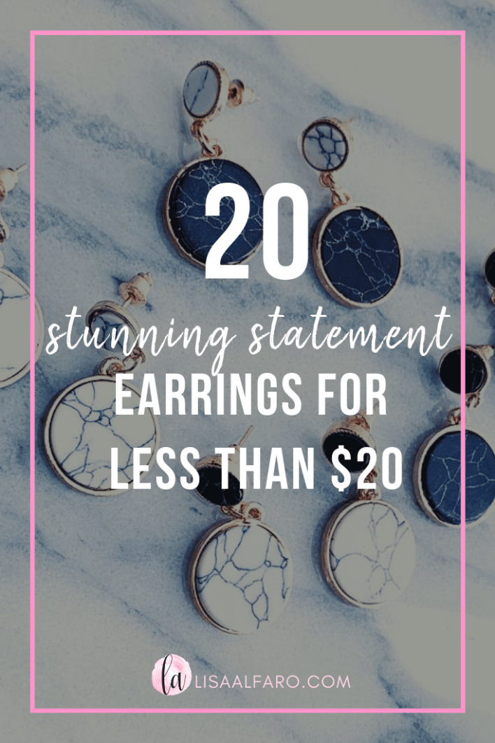 Earring studs and dangles for cheap! Fashion earrings all under $20 from local boutiques and Amazon #boutique #amazon #onlineshopping #style #statement