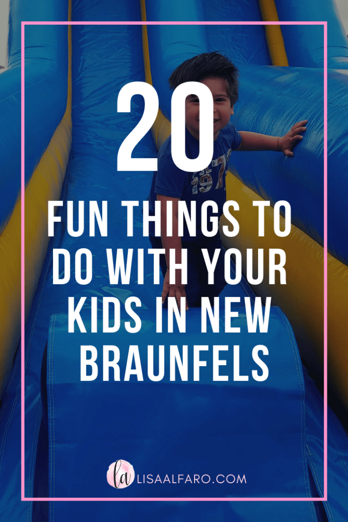 20 fun things to do with your kids in New Braunfels #Austin #thingstodo #NewBraunfels #CentralTexas #FunGuide #toddler #preschooler