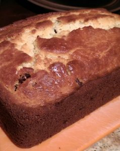 ricotta rum cake loaf