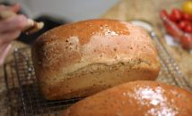 Cracked wheat onion bread5