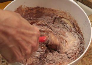 Tahini and Halva Brownies6