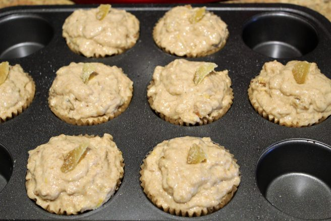 Vegan Banana Ginger Muffins4